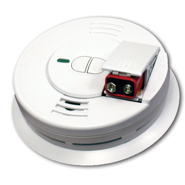 Personalized Front Loading Battery Operated Smoke Alarm