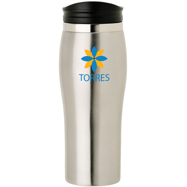 Imprinted Stainless Steel Tumbler 16oz