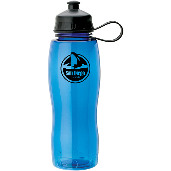 Personalized PETG Water Bottle w/ Sipper Spout  28 oz
