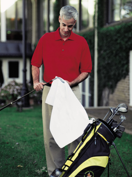 Printed Promotional Golf Towel