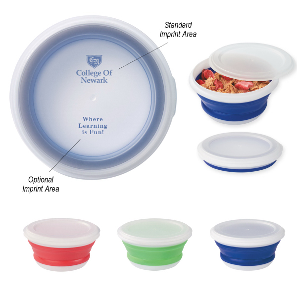 Customized Collapsible Food Bowl