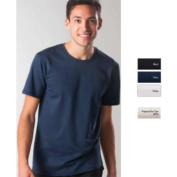 Printed Short Sleeve Light Weight Dri-Balance(TM) Tee