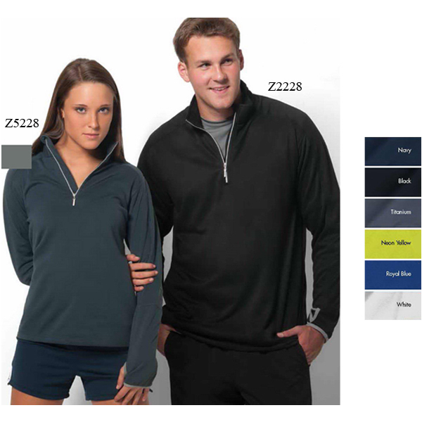 Imprinted Verona-W Women's 1/4 Zip Pullover Microbrushed Fleece