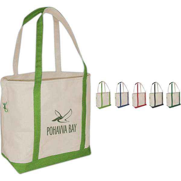 Promotional Small Accent Boat Tote