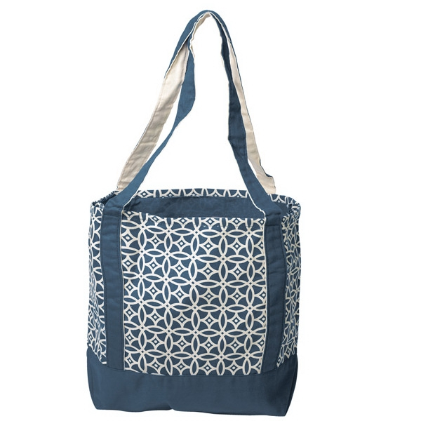 Promotional Printed Small Accent Boat Tote