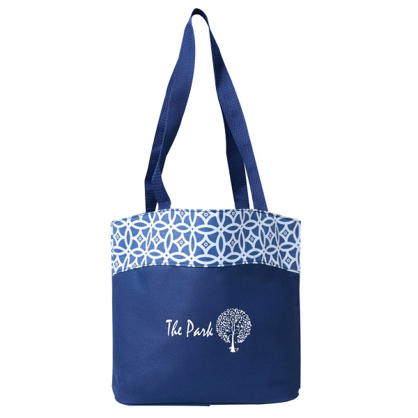Printed Vegas Valley Tote