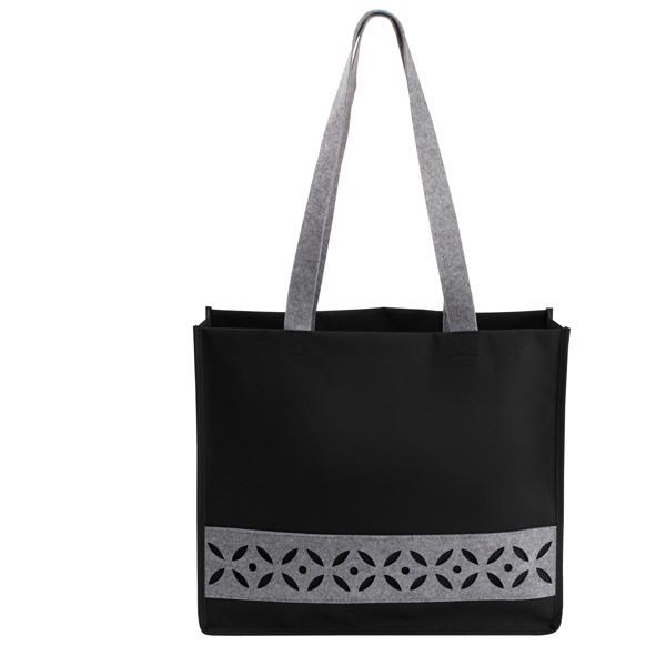 Imprinted Felt Cutout Tote