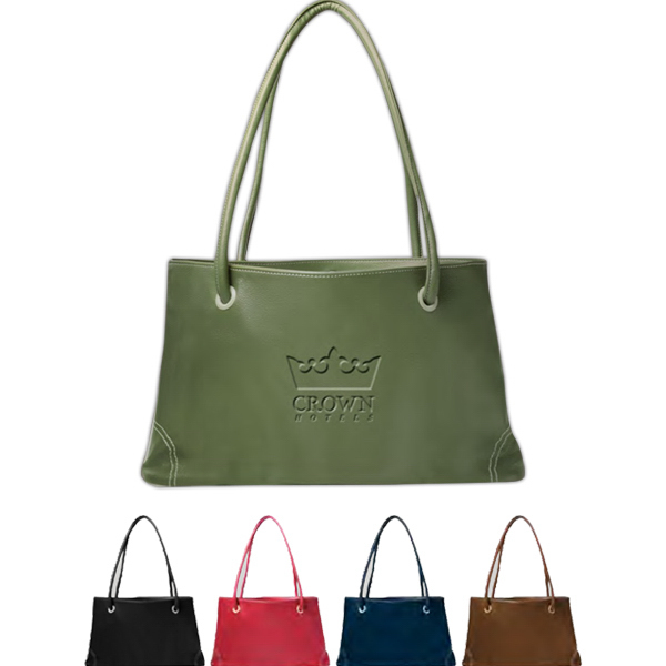 Imprinted Lamis East West Bag