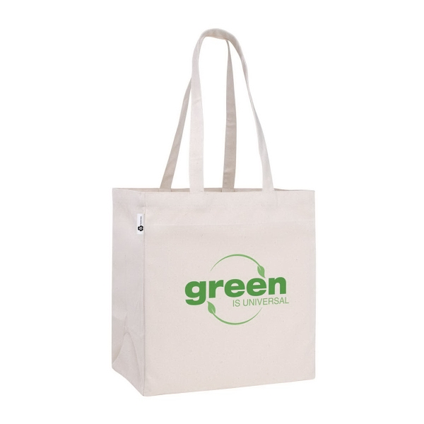 Customized V Natural (TM) Recycled Cotton Tote