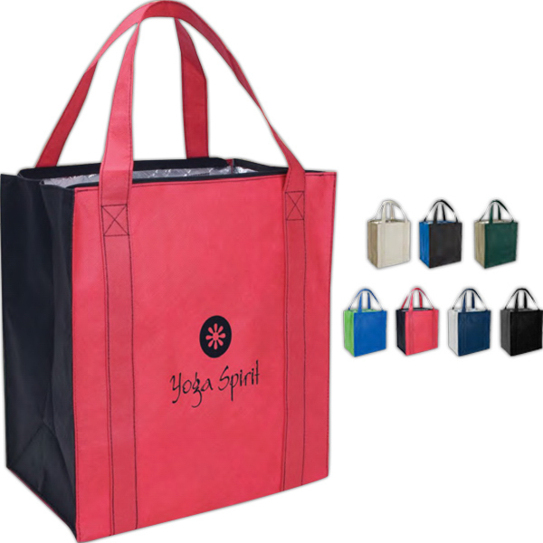 Printed Grande Insulated Tote