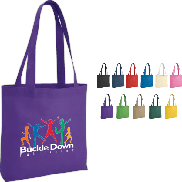Personalized Poly Pro Tote With Gusset