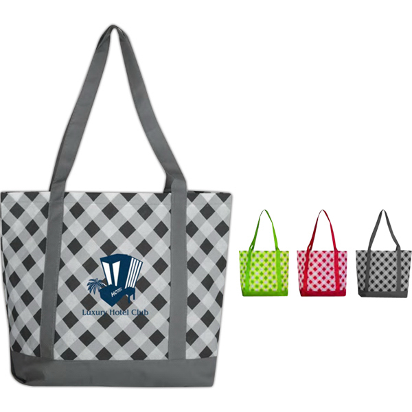 Imprinted Poly Pro Printed Boat Tote