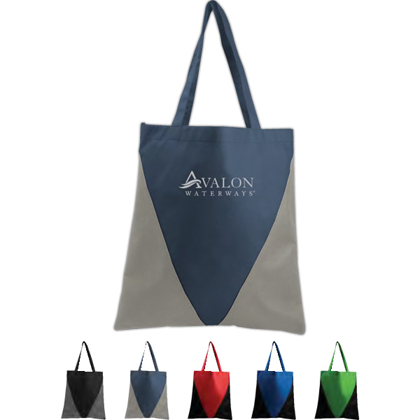 Imprinted Poly Pro Triangle Tote