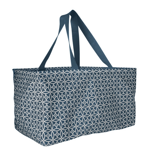 Personalized Large Printed Utility Tote