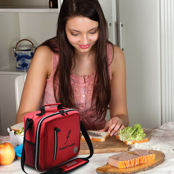 Customized Coleman (R) Messenger Lunch Box