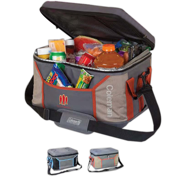 Printed Coleman (R) Medium Sport Collapsible Soft Cooler