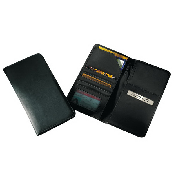 Printed Airline Ticket / Passport Case - Secure Tech