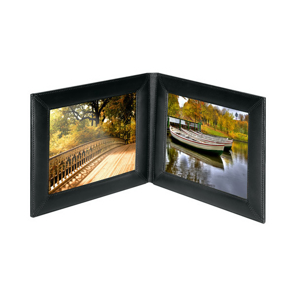 Custom Double 5 x 7 Landscape Picture Frame
