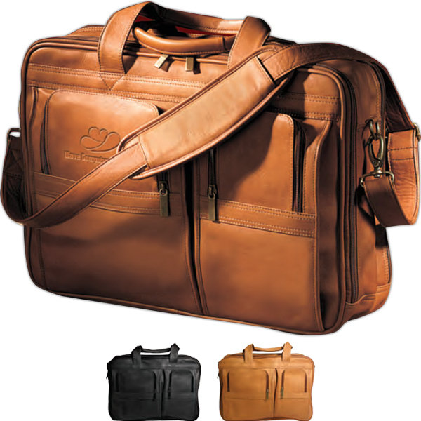 Promotional Vaqueta Contemporary Laptop Briefcase