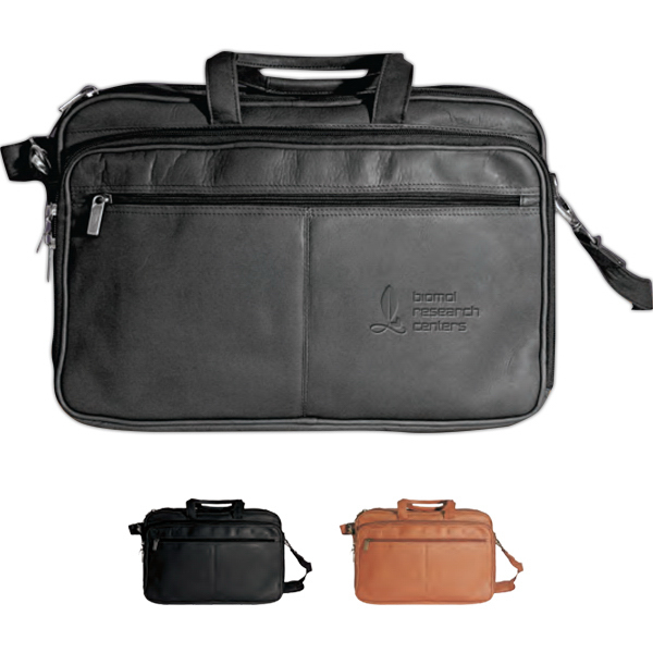 Promotional Vaqueta Organizer Laptop Briefcase