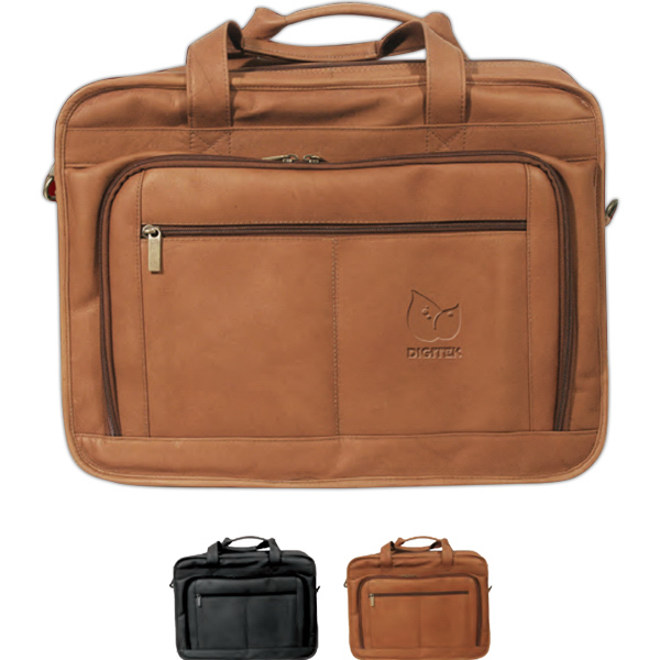 Imprinted Oversized Briefcase for Laptops