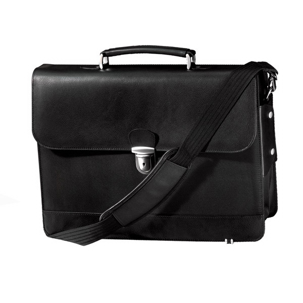 Personalized Metro Flapover Laptop Briefcase