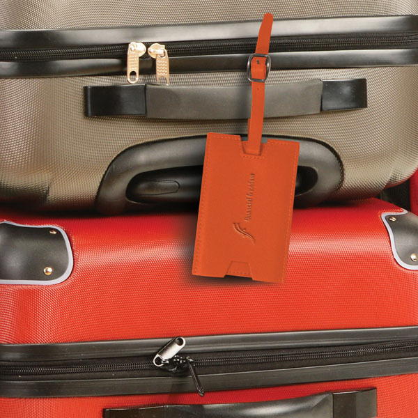 Printed Slideout Privacy Luggage Tag