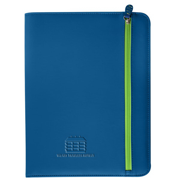 Promotional Technix Zippered Padfolio
