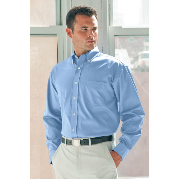Customized Easy Care Solid Textured Shirt