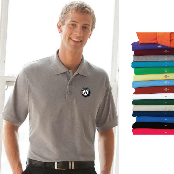 Custom Soft-Blend Double-Tuck Pique Polo