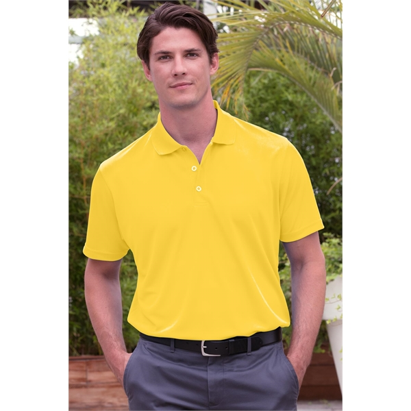 Personalized Vansport (TM) Omega Solid Mesh Tech Polo
