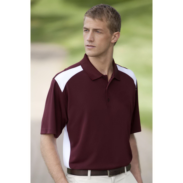 Personalized Vansport (TM) Omega Sport Block Polo