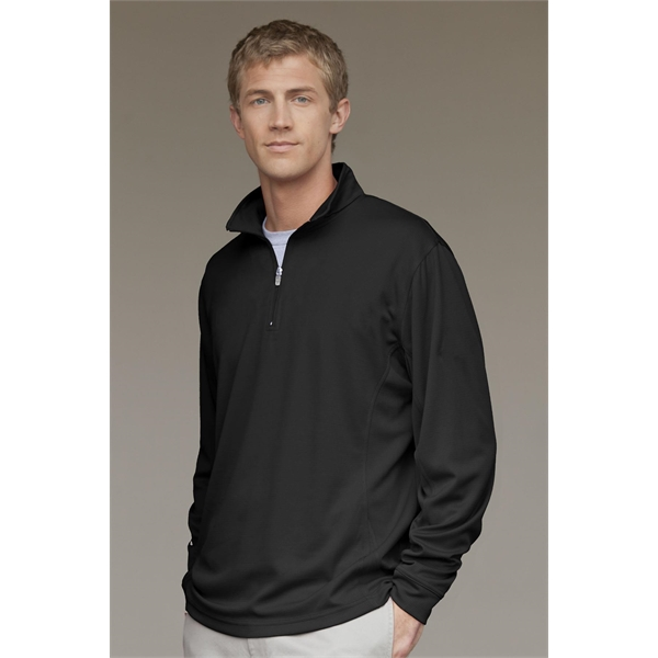 Personalized Vansport (TM) Mesh 1/4 Zip Tech Pullover