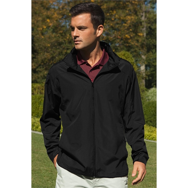 Personalized Full Zip Lightweight Hooded Jacket