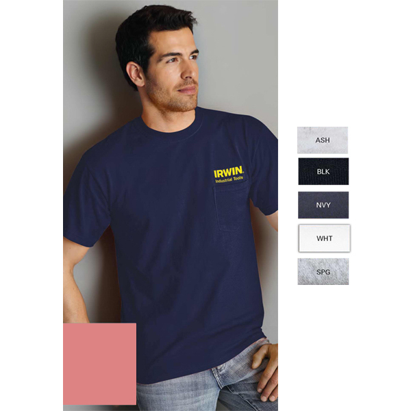 Personalized Gildan (R) Ultra Cotton (R) Adult T-Shirt With Pocket