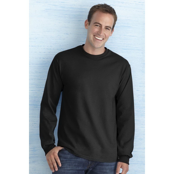 Imprinted Gildan (R) Ultra Cotton (R) Adult Long Sleeve T-Shirt
