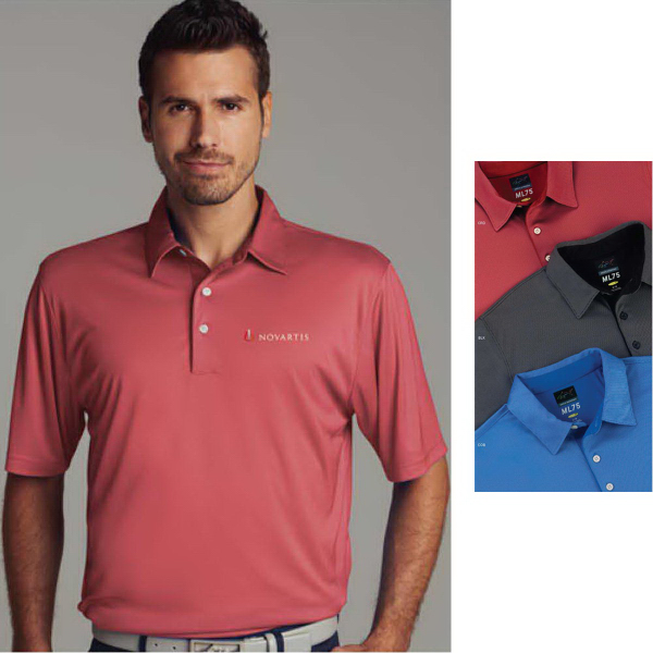 Custom Greg Norman Play Dry (R) ML75 Nailhead Polo