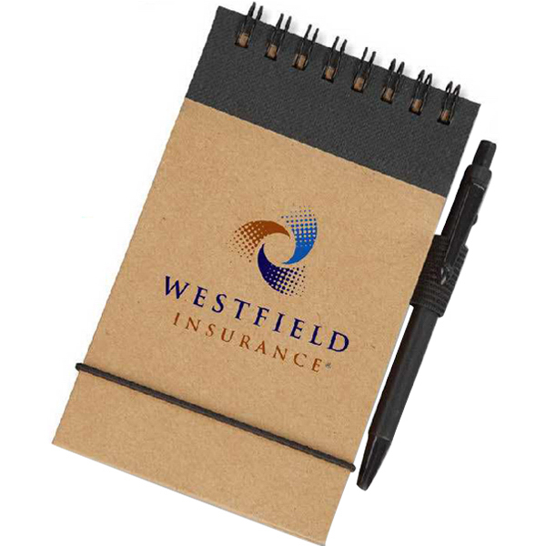 Promotional Eco Pocket Jotter with Micro-Pen