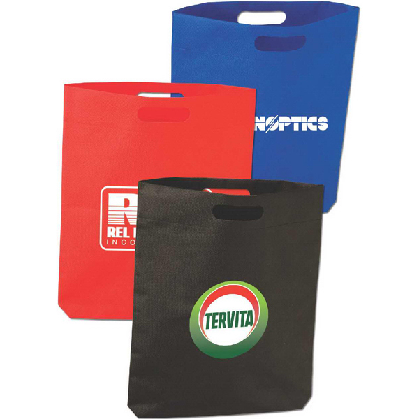 Promotional Tote bag with Die cut Handle