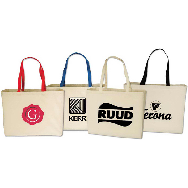Customized Large Cotton Tote Bag