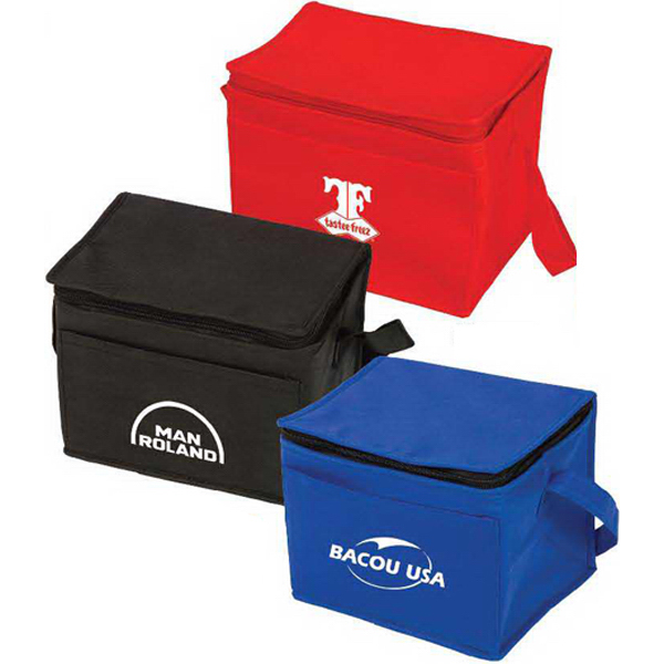 Customized Insulated 6 Pack Cooler Bag