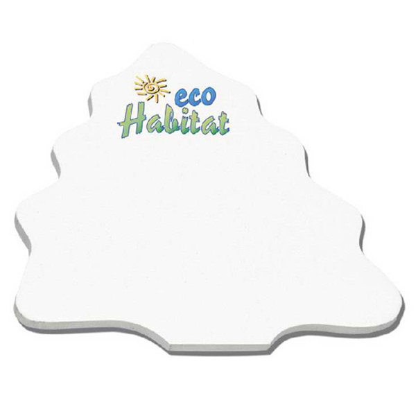 "Customized Die Cuts 4"" x 4"" Earth Friendly Adhesive Notes"