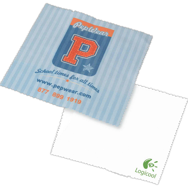 Printed Full Color Microfiber Cleaning Cloth