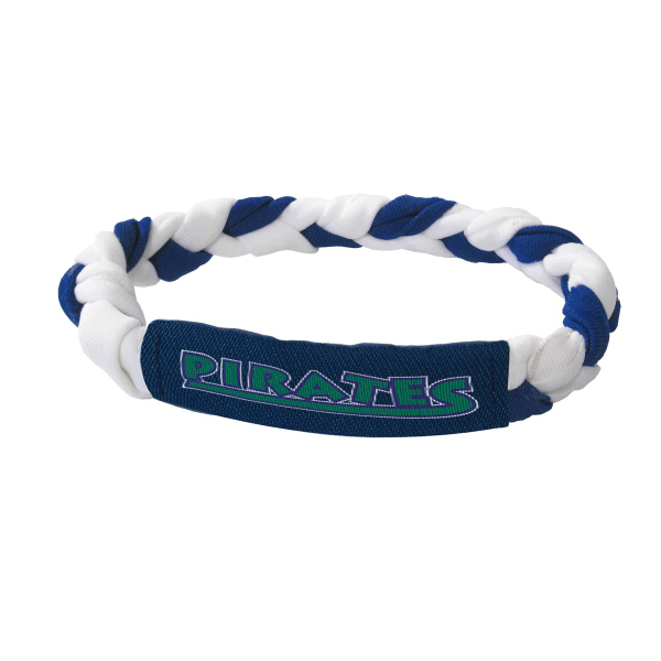 Customized Braided Wristband with woven Logo