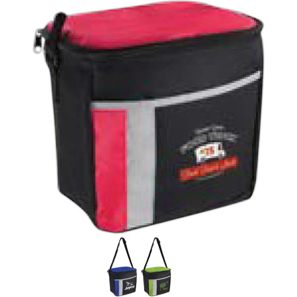 Promotional 6 Pack Color Block Cooler