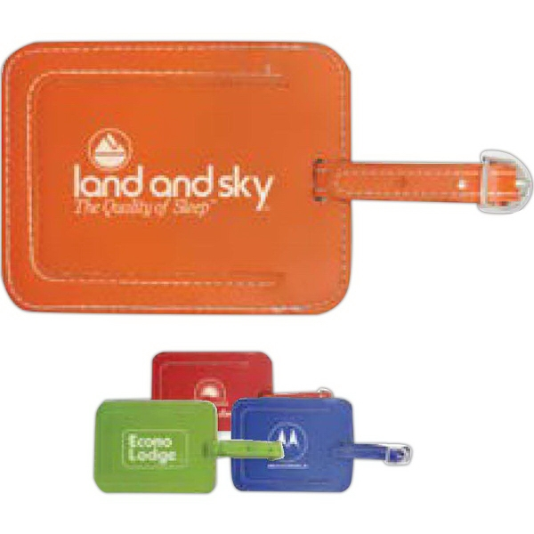 Custom Frequent Flyer Luggage Tag