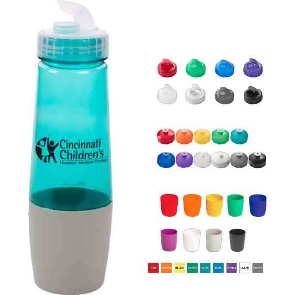 Customized 28 Oz Polysure (TM) Sip'N Pour Bottle