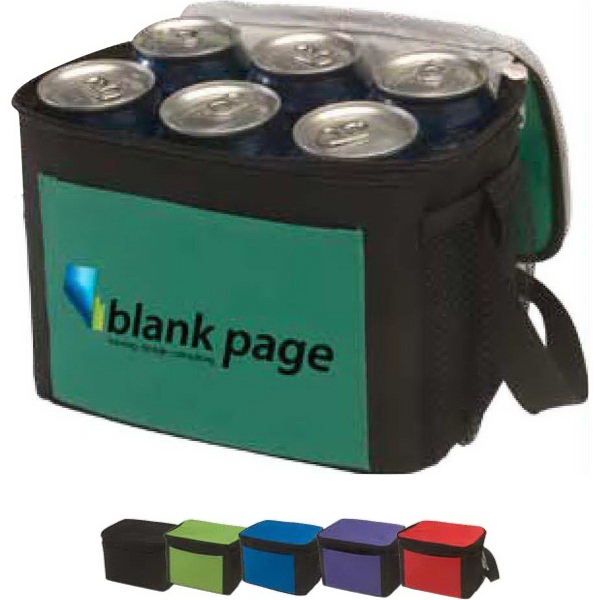 Imprinted Trek 6-Pack Two-Tone Cooler
