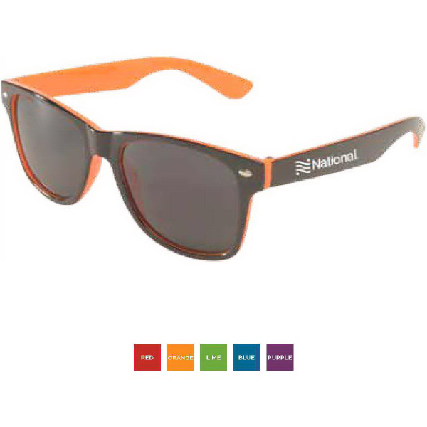 Printed Miami Two-Tone Sunglasses