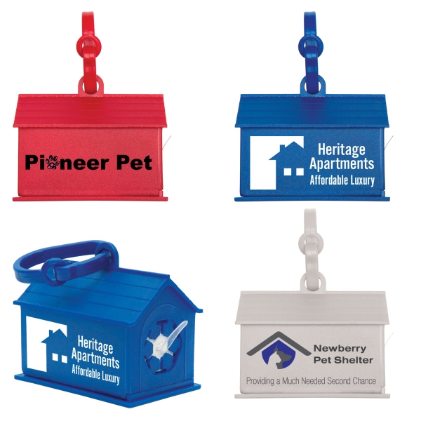 Custom Dog House Waste Bag Dispenser